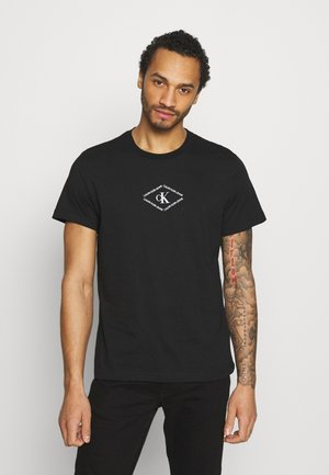 MONOTRIANGLE TEE - Camiseta estampada - black