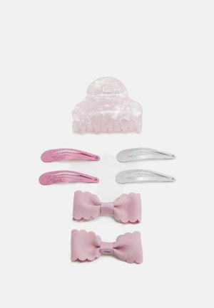 NKFACC DREA HAIR CLIPS 4 PACK - Hair Styling Accessory - pink nectar