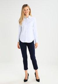 GANT - OXFORD BANKER - Button-down blouse - light blue - 1