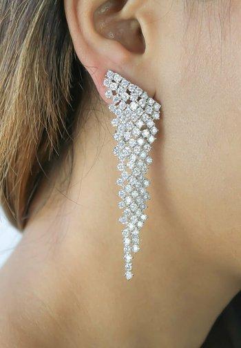 Earrings - white