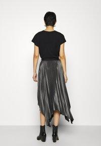 AllSaints - JAS SKIRT - A-line skirt - silver - 2