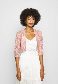 Vila - VIMILLIE COVER UP - Strickjacke - misty rose - 0
