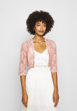 VIMILLIE COVER UP - Chaqueta de punto - misty rose