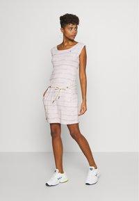 Ragwear - TAG SEA - Žerzejové šaty - light pink - 1