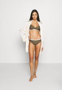 Calvin Klein Underwear - ONE UNLINED - Triangle bra - muted pine - 1