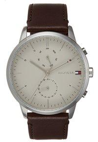 Tommy Hilfiger - WATCH - Watch - silver-coloured/brown - 0