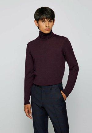 MUSSO - Stickad tröja - purple