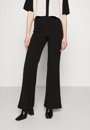 BOWIE FLARE PANT - Kalhoty - black