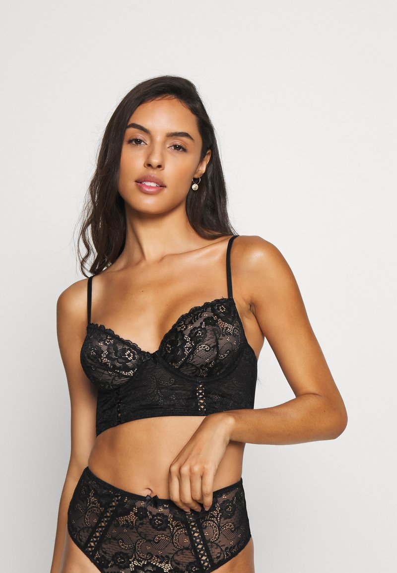 LASCANA - BRA - Underwired bra - black