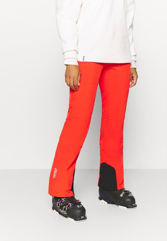 FREYUNG - Pantalon de ski - coral red