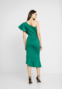 True Violet - TRUE ONE SHOULDER DRESS WITH FRILL DETAIL - Cocktail dress / Party dress - green - 3