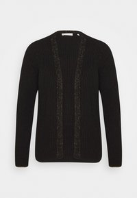Rich & Royal - CARDIGAN WITH DETAIL - Vest - black - 3