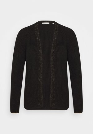 CARDIGAN WITH DETAIL - Kardigan - black