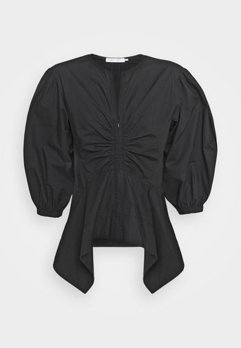 PEPLUM - Blusa - black