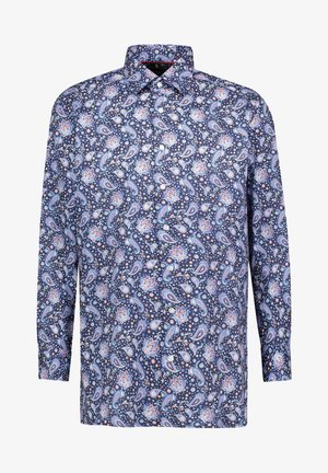 MODERN FIT  LONG SLEEVE - Shirt - blue