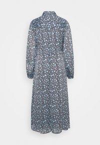 Fabienne Chapot - MIDI DRESS - Shirt dress - dark chocolate/ice blue - 1