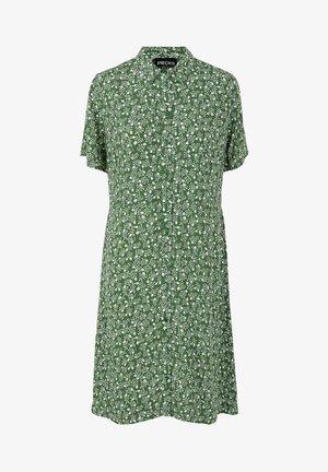 REBECCA - Shirt dress - garden green