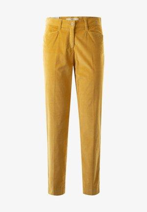 Trousers - saffron