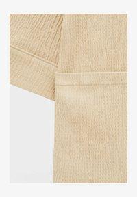 PULL&BEAR - CRÊPE - Summer jacket - mottled beige - 4