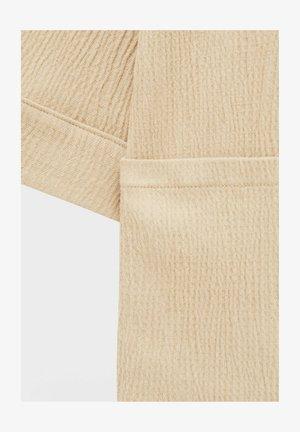 CRÊPE - Summer jacket - mottled beige