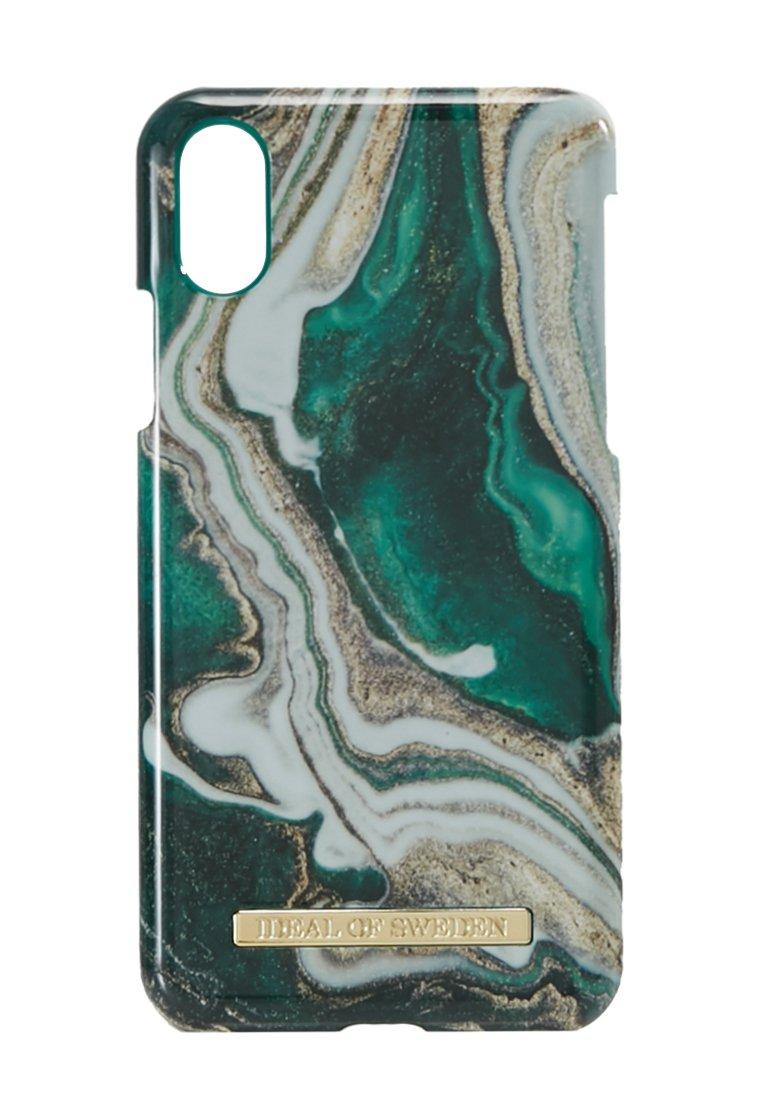 Ideal Of Sweden Fashion Case Iphone X/xs Marble - Handytasche Carrara/gold-coloured/weiß