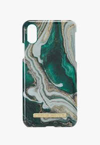 iDeal of Sweden - FASHION CASE IPHONE X/XS MARBLE - Telefoonhoesje - goldjade - 1