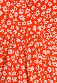 Anna Field MAMA - Denní šaty - red/white - 2