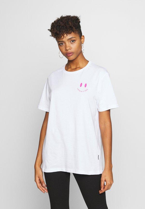 YOURTURN T-shirt z nadrukiem - white/biały Odzież Męska KSEO