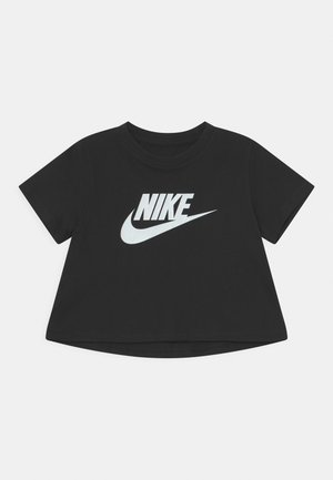 TEE CROP FUTURA  - T-shirts med print - black