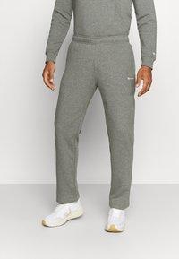 Champion - STRAIGHT HEM PANTS - Tracksuit bottoms - grey - 0