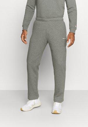 STRAIGHT HEM PANTS - Træningsbukser - grey