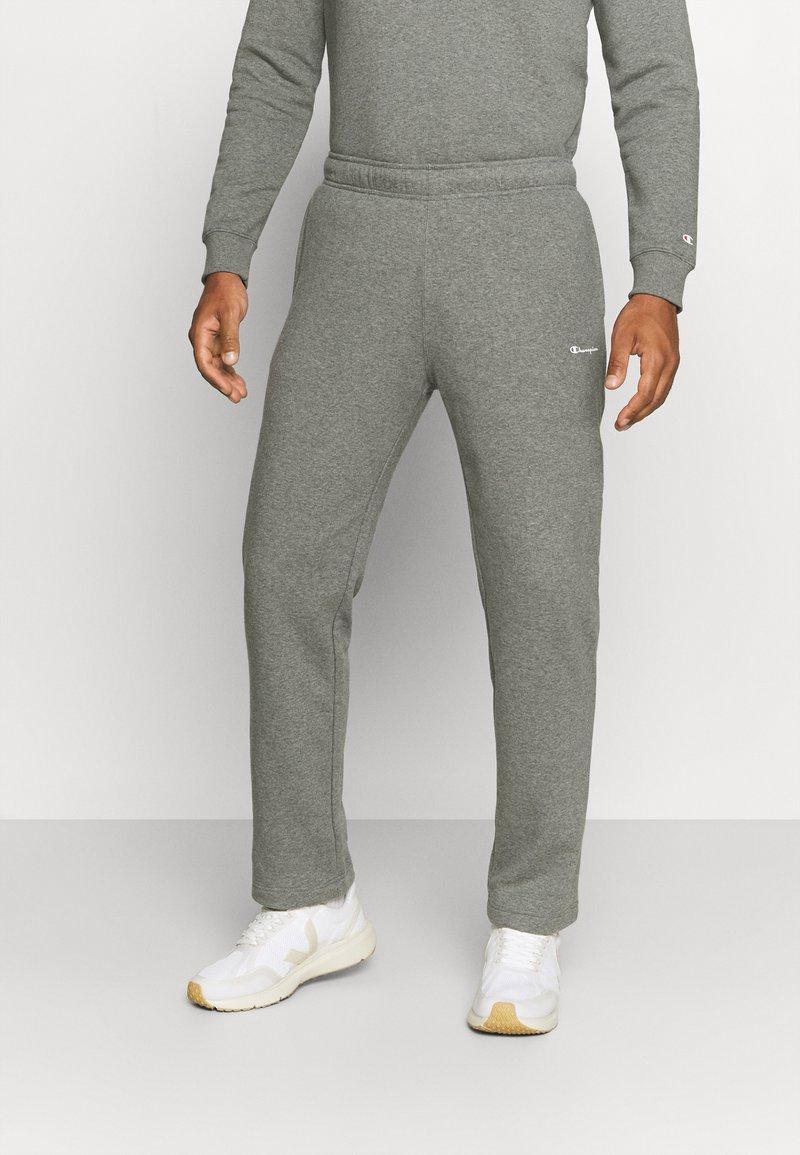 Champion - STRAIGHT HEM PANTS - Tracksuit bottoms - grey