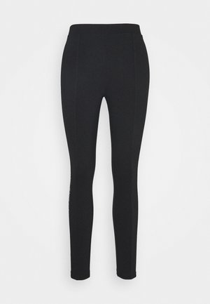 MOTO OUTLINE LOGO MILANO - Leggings - black
