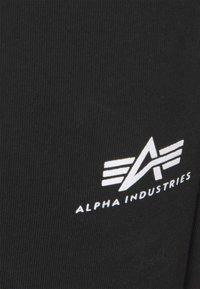 Alpha Industries - BASIC - Tracksuit bottoms - black - 5