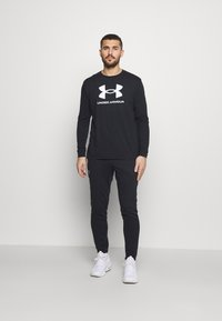 Under Armour - PROJECT ROCK PANTS - Spodnie treningowe - black - 1