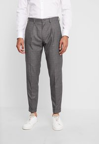 Isaac Dewhirst - STAND ALONE CHECK - Suit trousers - grey - 0