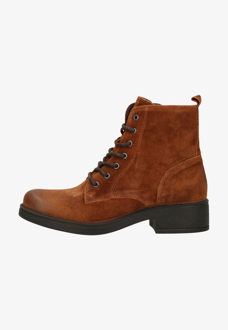 IGI&CO - Platform ankle boots - cognac