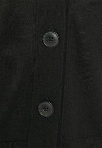 Marc O'Polo - CARDIGAN LONGSLEEVE NECK - Cardigan - black - 2