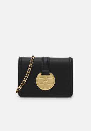 BUTTON LOGO CHAIN SHOULDER BAG - Handbag - nero