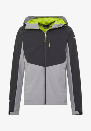 BARNES - Soft shell jacket - light grey