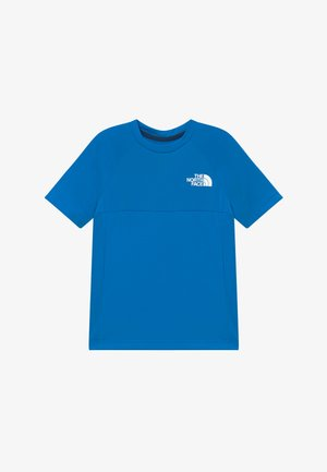BOYS REACTOR TEE - Triko s potiskem - clear lake blue
