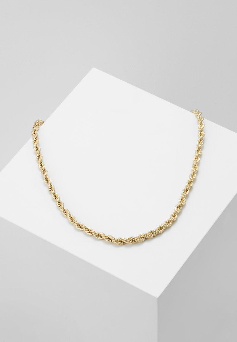 Burton Menswear London - BURTON TWIST TBAR - Necklace - gold-coloured
