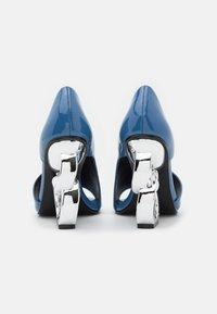 Kat Maconie - Peeptoe heels - slate - 3