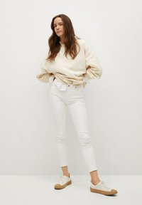 Mango - Jeansy Skinny Fit - white - 1