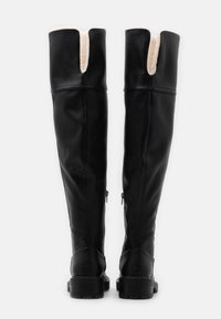 ONLY SHOES - ONLBOLD TALL BOOT - Kozačky nad kolena - black - 3