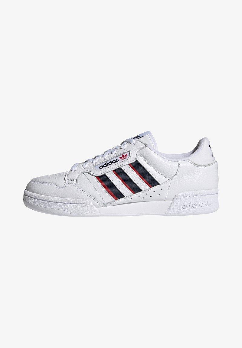 adidas Originals - CONTINENTAL 80 STRIPES UNISEX - Tenisky - footwear white/collegiate navy/vivid red