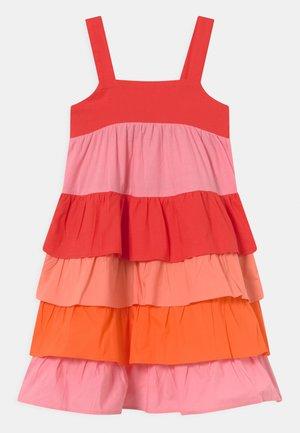 TIERED DRESS - Jurk - multi-coloured