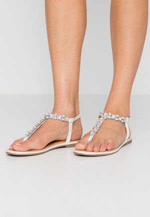 SPURLER - T-bar sandals - silver