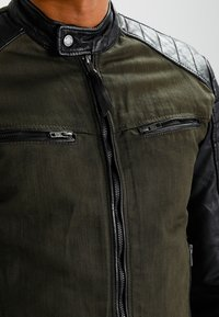 Be Edgy - ANDY  - Leather jacket - khaki - 3