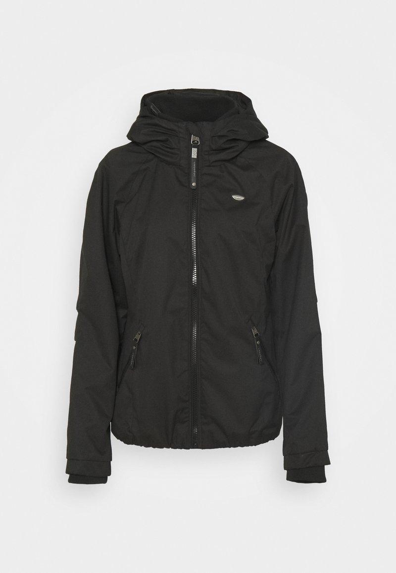 Ragwear - DIZZIE - Waterproof jacket - black